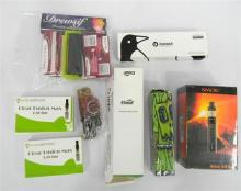 A quantity of vaping accessies & papers etc.