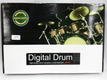 A digital drum kit in open box