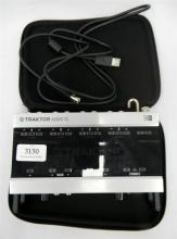 A Traktor Scratch Audio 10 MK2 premium DJ soundcard interface [no power supply], used