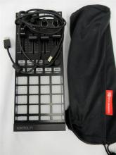 A Traktor Kontrol F1 Controller with cable & carry bag