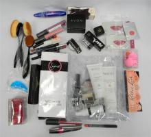 A bag of assorted makeup incl. Nation gift pack