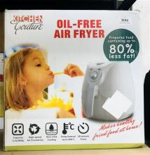 A KItchen Couture oil free air fryer in re-sealded box