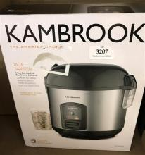 A Kambrook Rice Master 5 cup rice cooker
