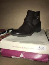 A pair of ladies boots marked Naturalizer size 37.5