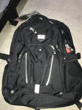The High Sierra business backpack plus two others