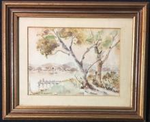 Thelma Wyner Evening Peace Watercolour