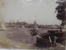 Charles Kerry (1857-1928) 1243. Yachting off Miller's Point Albumen photograph