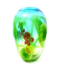 A Murano Style Glass Vase