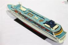A Scale Model of The Norwegian Sea Cruise Ship
