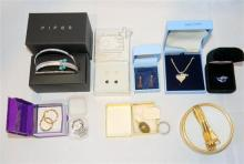 A selection of boxed jewellery
