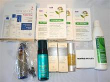A bag of speciality hair care products incl. L''Oreal Fuller Hair pack