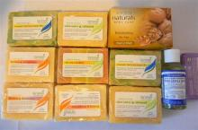 A selection of Lariese soaps plus others