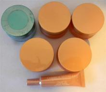 Four Christie Brinkley day creams, one night cream & one instant wrinkle reducer