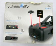 A pair of Eachine VRD2 virtual reality drone goggles in open box