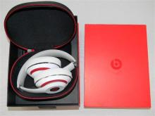 A pair of Beats Studio wireless headphones in open box, used; as found