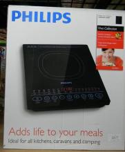 A Phillips Induction Cooker/hot plate, part of the Viva Collection, in sealed box.