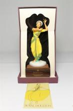 A Royal Doulton limited edition ''Dancers of the World'' figurine of The Indian Temple Dancer