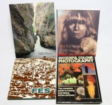 Four Various Coffee Table Books: ''Successful Colour Photography'' + ''500 Nations'' + ''Wild Rivers'' + ''Fes''