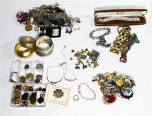 A Collection of Costume Jewellery including Necklaces, Bracelets, Pendants