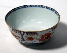 A Chinese Porcelain Bowl in the Imari Palette, Qing dynasty, 18th/19th century,