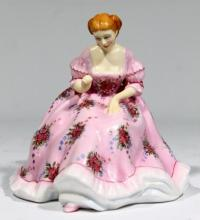 A Royal Doulton Gentle Arts ''Tapestry Weaving'' Figure,