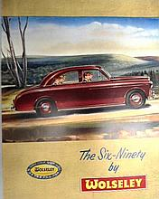 A Very Rare Sales Brochure for the Wolseley Six-Ninety Model