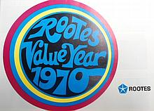 A Rootes Value Year 1970 Sales Brochure