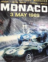 A Christie's Auction Poster Monaco 3rd May 1989