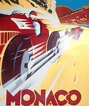 A Christie's Auction Poster Monaco May 1989