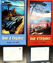 A Pair of Pebble Beach Tour d'Elegance August 2000 and 2001