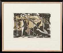 Ian Armstrong (b.1923) Moonlight 1977 Colour woodcut ed. 2/70