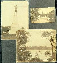 Charles Bayliss (1850-1897) A Collection of 3 photographs including: Gov.House from the Domain; Botanic Gardens; Statue of Captain C...