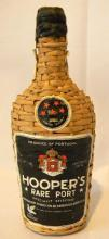 Hoopers rare port in rattan covered bottle 750ml