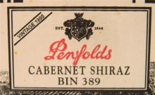 Six Penfolds 389 1995 750ml in original sealed box.