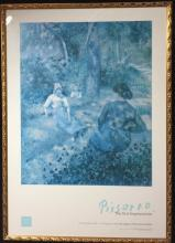 Pisarro, the First Impressionist, AGNSW Poster + Picasso, Bouquet of Peace, poster (2)