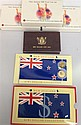 A collection of New Zealand coins