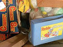 A box of new old toys