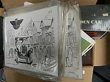 A large box of sundries inc