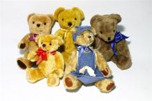 A Collection of Five Bears including English,