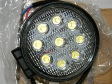 Two LED work lights