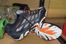 A pair of mens sport/hiking shoes marked Merrell size 48