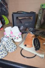 Four pairs baby shoes & boots