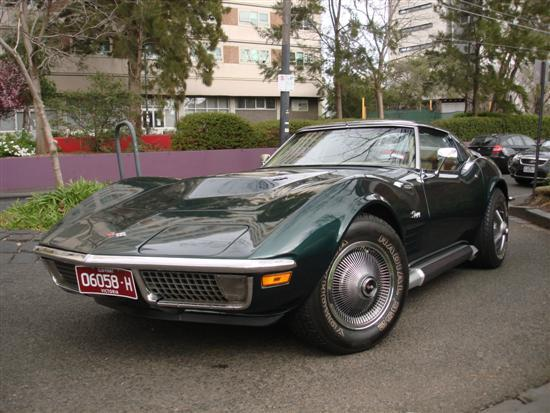 a 1971 corvette stingray targa t top. Black Bedroom Furniture Sets. Home Design Ideas