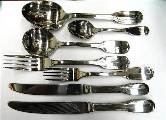 A Boxed Strachan Harmony Series Stainless Steel Cutlery Set,