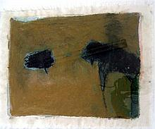 Kate Turner Shade Trees 1998 Oil pastel & graphite on canvas