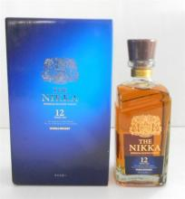A Bottle of The Nikka, 12 Year Old Premium Blended Whisky 700ml in original box