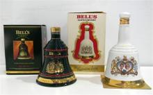 Two Collectors Bell's Scotch Whiskies 700 & 750ml