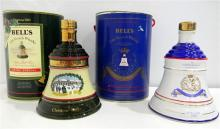 Two Commemorative Bell's Scotch Whisky's 700 & 750ml with original packaging