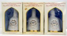 Three Bell's Scotch Whiskies to Commemorate the birth of Prince William of Wales 500ml
