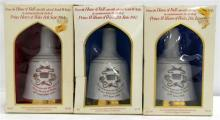 Three Commemorative Bell's Prince William & Prince Henry Scotch Whisky's 500ml